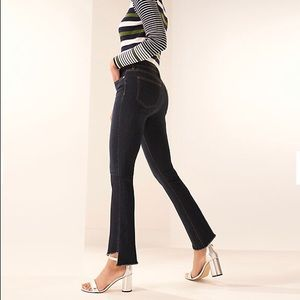 Nine West High-Rise Kick Flare Jeans, size 6